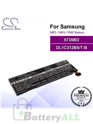 CS-SMG700SL For Samsung Mp3 Mp4 PMP Battery Model 5735BO / DL1C312BS/T-B