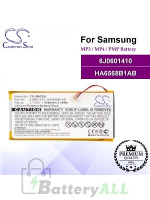 CS-SMZ5SL For Samsung Mp3 Mp4 PMP Battery Model 6J0601410 / HA6568B1AB