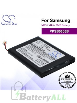 CS-SYH7SL For Samsung Mp3 Mp4 PMP Battery Model PPSB0606B