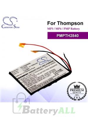 CS-TH2840SL For Thompson Mp3 Mp4 PMP Battery Model PMPTH2840