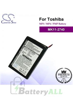 CS-TS002SL For Toshiba Mp3 Mp4 PMP Battery Model MK11-2740
