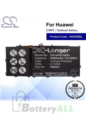 CS-HUS100SL For Huawei UMPC Netbook Battery Model HB3S1