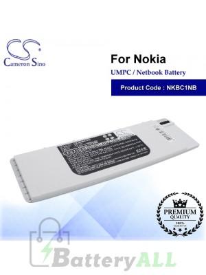 CS-NKBC1NB For Nokia UMPC Netbook Battery Model BC-1S