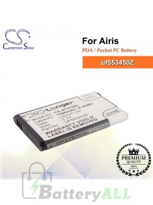 CS-AT470SL For Airis PDA / Pocket PC Battery Model uf553450Z