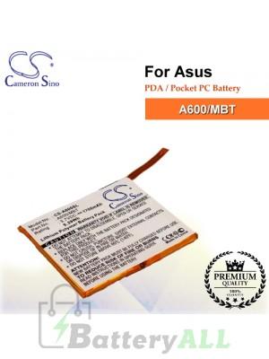 CS-A600SL For Asus PDA / Pocket PC Battery Model A600/MBT