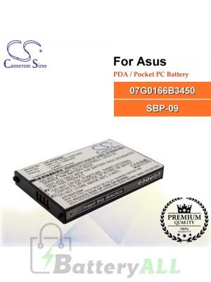 CS-AP696SL For Asus PDA / Pocket PC Battery Model 07G0166B3450 / SBP-09