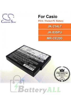 CS-CE200SL For Casio PDA / Pocket PC Battery Model JK-214LT / JK-835PU / MR-CE200