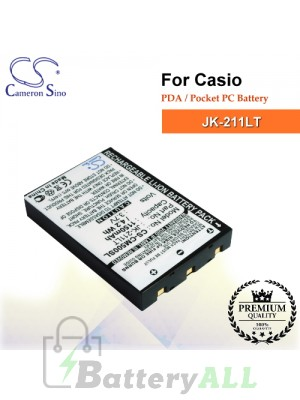 CS-CM500SL For Casio PDA / Pocket PC Battery Model JK-211LT