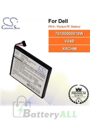 CS-DEP101SL For Dell PDA / Pocket PC Battery Model 76100000018W / V04B / XRCHM