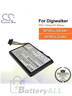 CS-MIO336SL For Digiwalker PDA / Pocket PC Battery Model BP8BULXBIAN1 / BP8BULXIAN1