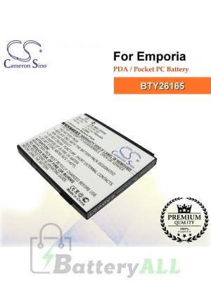 CS-MEL500SL For Emporia PDA / Pocket PC Battery Model BTY26165