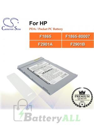 CS-JR560SL For HP PDA / Pocket PC Battery Model F1865 / F1865-80007 / F2901A / F2901B