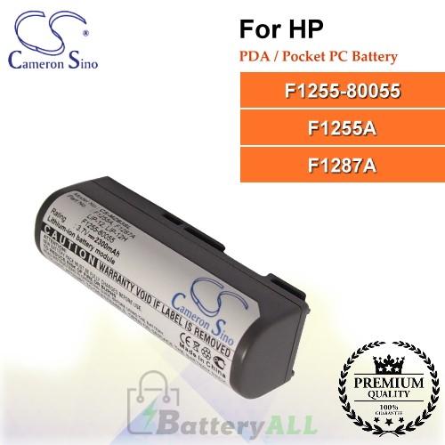 CS-MZB3SL For HP PDA / Pocket PC Battery Model F1255-80055 / F1255A / F1287A
