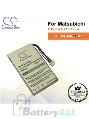 CS-IP3230SL For MATSUBICHI PDA / Pocket PC Battery Model KCWD04067A1