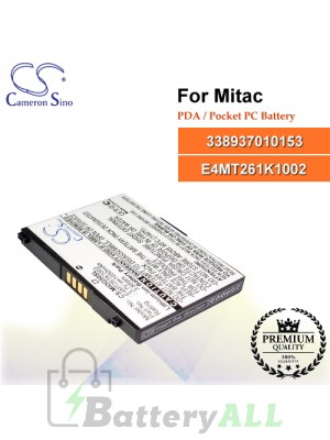 CS-MIOG50SL For Mitac PDA / Pocket PC Battery Model 338937010153 / E4MT261K1002