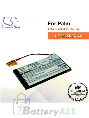 CS-383E562SL For Palm PDA / Pocket PC Battery Model UP383562A A6