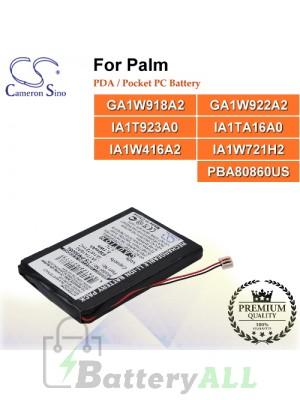 CS-PM550SL For Palm PDA / Pocket PC Battery Model GA1W918A2 / GA1W922A2 / IA1T923A0 / IA1TA16A0 / IA1W416A2 / IA1W721H2 / PBA80860US