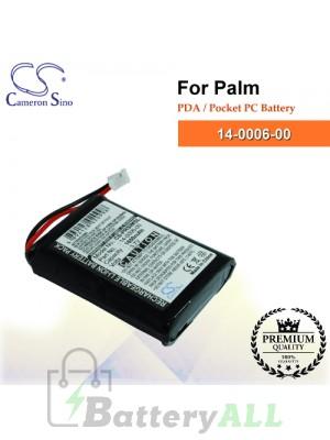 CS-PRSIMSL For Palm PDA / Pocket PC Battery Model 14-0006-00