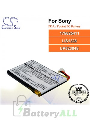 CS-T400SL For Sony PDA / Pocket PC Battery Model 175625411 / LIS1228 / UP523048