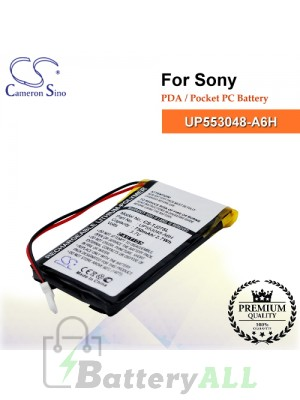 CS-TJ27SL For Sony PDA / Pocket PC Battery Model UP553048-A6H