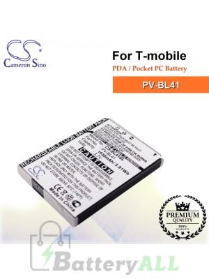 CS-BL41SL For T-Mobile PDA / Pocket PC Battery Model PV-BL41