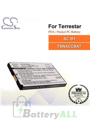 CS-TSC001SL For TerreStar PDA / Pocket PC Battery Model SC-B1 / TSNACCBAT