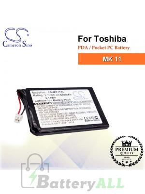 CS-MK11SL For Toshiba PDA / Pocket PC Battery Fit Model MK 11