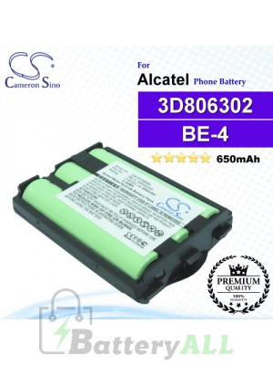 CS-OT300SL For Alcatel Phone Battery Model BE-4 / 3D806302
