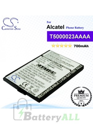 CS-OT560SL For Alcatel Phone Battery Model T5000023AAAA