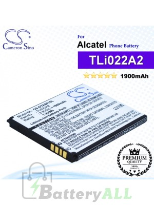 CS-OTA851SL For Alcatel Phone Battery Model TLi022A2