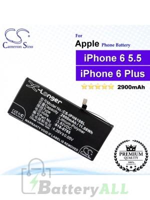 CS-IPH610SL For Apple Phone Battery Model 616-0765 / 616-0770 / 616-0772 / DAK90151 / PP11AT115-1 For iPhone 6 Plus