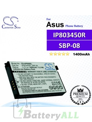 CS-AP008SL For Asus Phone Battery Model SBP-08