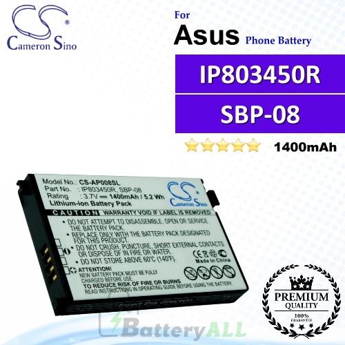 CS-AP008SL For Asus Phone Battery Model SBP-08