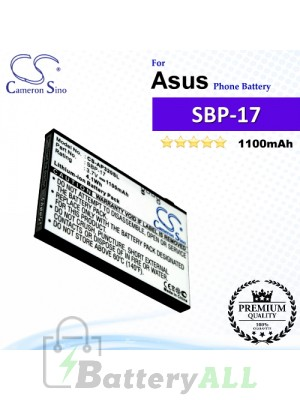 CS-AP320SL For Asus Phone Battery Model SBP-17