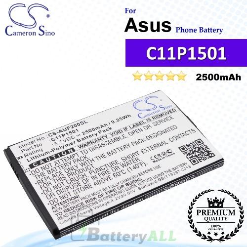 CS-AUF200SL For Asus Phone Battery Model 0B200-01770200 / C11P1501