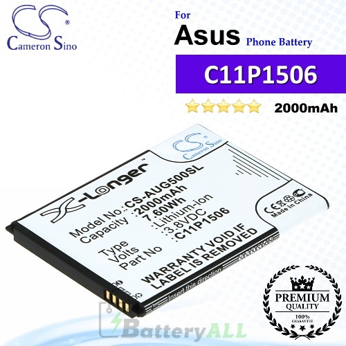 CS-AUG500SL For Asus Phone Battery Model C11P1506