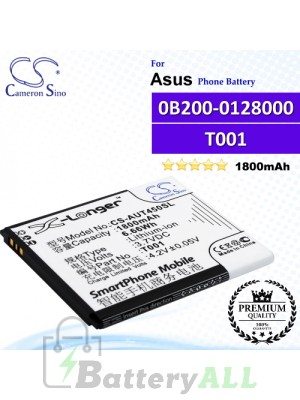 CS-AUT450SL For Asus Phone Battery Model 0B200-0128000 / T001