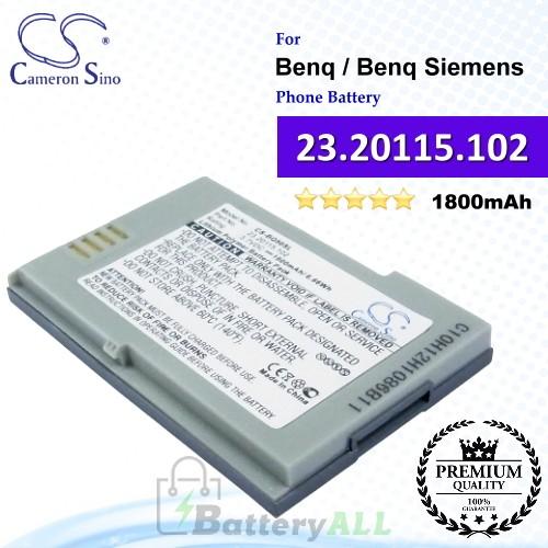 CS-BQ50SL For Benq / Benq-Siemens Phone Battery Model 23.20115.102