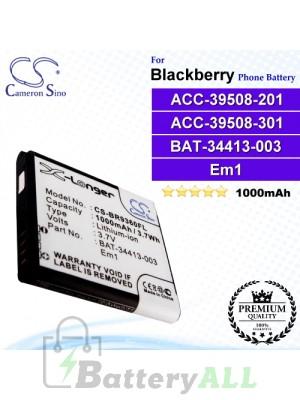 CS-BR9360FL For Blackberry Phone Battery Model ACC-39508-201 / ACC-39508-301 / BAT-34413-003 / EM1