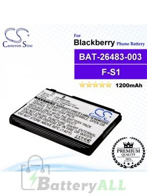 CS-BR9810SL For Blackberry Phone Battery Model BAT-26483-003 / F-S1