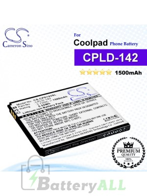 CS-CPD142SL For Coolpad Phone Battery Model CPLD-142