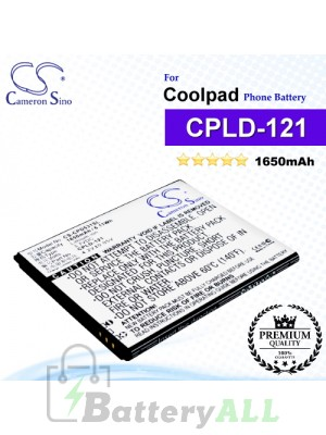 CS-CPD531SL For Coolpad Phone Battery Model CPLD-121