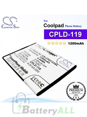 CS-CPD723SL For Coolpad Phone Battery Model CPLD-119