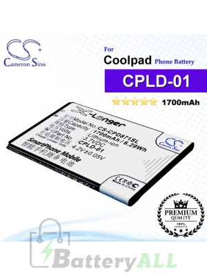 CS-CPD871SL For Coolpad Phone Battery Model CPLD-01
