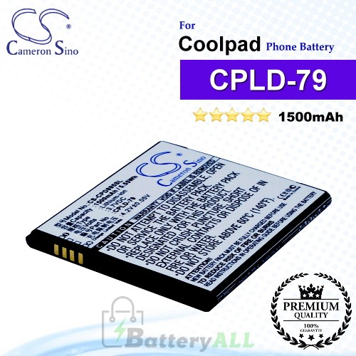 CS-CPD895SL For Coolpad Phone Battery Model CPLD-79