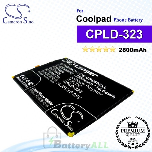 CS-CPS600XL For Coolpad Phone Battery Model CPLD-323