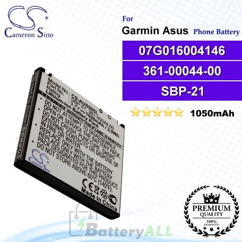CS-AUS50SL For Garmin-Asus Phone Battery Model 07G016004146 / 361-00044-00 / SBP-21 / TCE2110104709376
