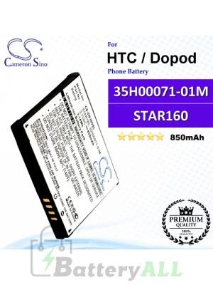 CS-DS300SL For HTC / Dopod Phone Battery Model STAR160