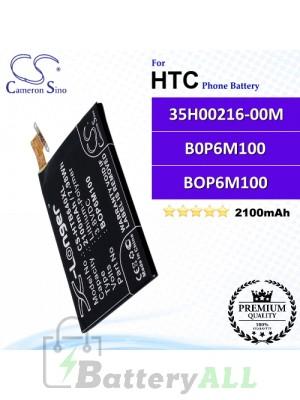 CS-HTB640XL For HTC Phone Battery Model 35H00216-00M / B0P6M100 / BOP6M100
