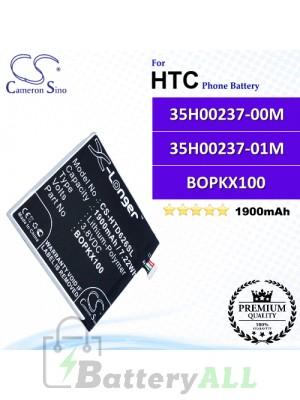 CS-HTD626SL For HTC Phone Battery Model 35H00237-00M / 35H00237-01M / B0PKX100 / BOPKX100